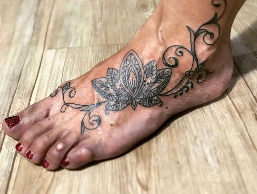 Ankle Tattoos for Men and Women